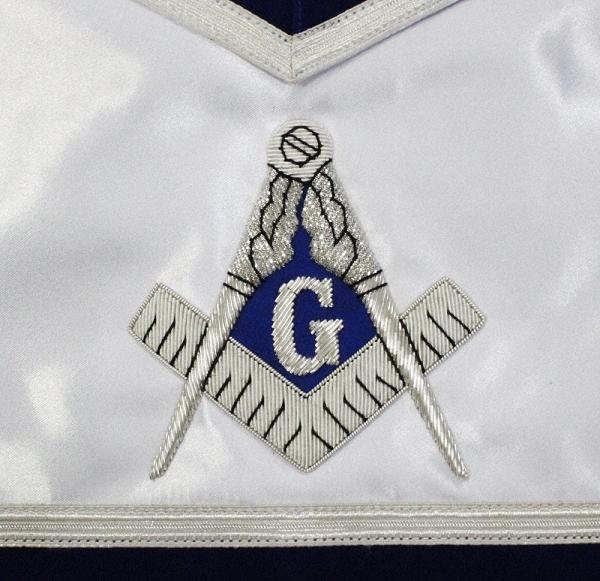 Masonic Blue Lodge Member Apron - Silk