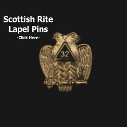 Scottish Rite Lapel Pins