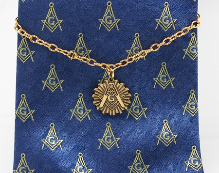 Masonic Tie Chains & Tie Clips