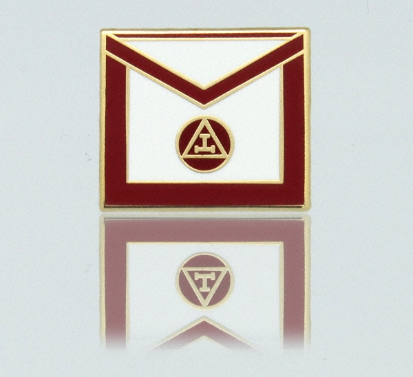 York Rite - Royal Arch Masons Member Apron Lapel Pin