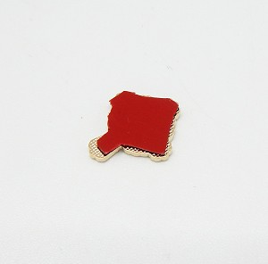 Knight Commander of the Court of Honor 0.75 Inch Flat Adhesive Metal Badge | Scottish Rite Accessories