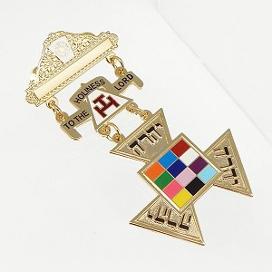 York Rite Royal Arch Past High Priest York Rite Jewel Large