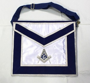 Masonic Blue Lodge Member Apron - Silk