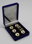 Blue Lodge: Past Master without Square Tuxedo Stud Set and Cufflinks
