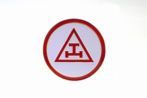 Triple Tau Royal Arch Car Badge