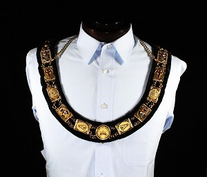 Knights of the York Cross of Honour Member Collar KYCH York Rite Collar