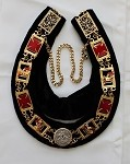 Knights Templar Grand Officer Collar