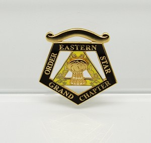 Order of the Eastern Star Grand Officer Jewel - Grand Ruth