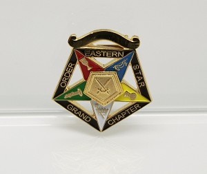 Order of the Eastern Star Grand Officer Jewel - Grand Sentinel