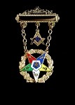 Order of the Easter Star Past Patron Officer Jewel | OES Officer Jewels