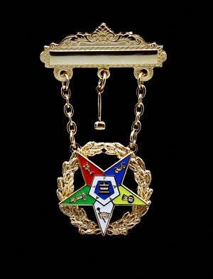 Order of the Eastern Star Past Matron Officer Jewel | OES Officer Jewels