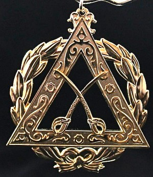 Royal Arch Chapter Capitan Officer Collar Jewel