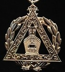 Royal Arch Grand High Priest Officer Collar Jewel