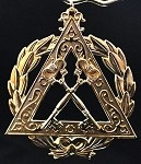 Royal Arch Grand Treasurer Officer Collar Jewel