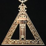 Royal Arch Scribe Officer Collar Jewel