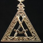 Royal Arch Tyler Officer Collar Jewel
