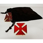 Grand Officer - Knights Templar Red Maltese Crosses
