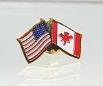 US/Canada Friendship Flag Lapel Pin