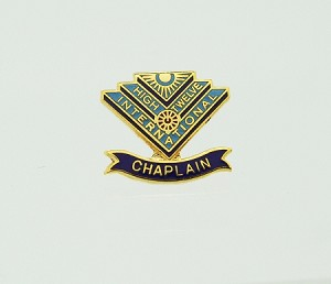 High Twelve Chaplain Lapel Pin