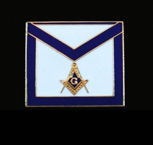 Masonic Member Blue Lodge Apron Lapel Pin | Blue Lodge Pins