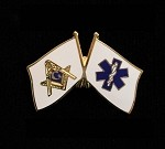 Masonic / EMT Lapel Pin