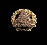 Grand Cryptic Council Past Grand Thrice Illustrious Master Lapel Pin | Grand York Rite of Freemasonry