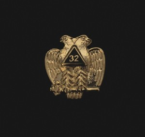 Scottish Rite Double Eagle Lapel Pin