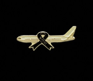9-11 Flight 93 Plane Pin