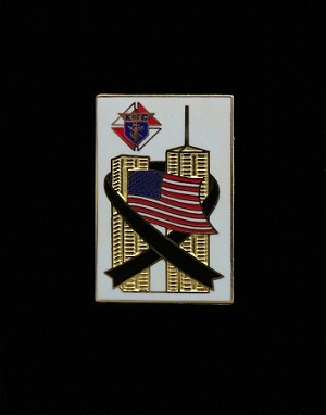 Knights of Columbus 9/11 World Trade Center Lapel Pin