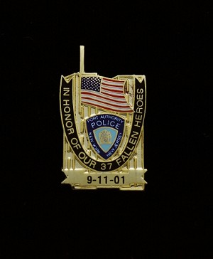 9/11 - Port Authority Memorial Lapel Pin