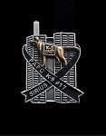 K-9 Sirius 9/11 World Trade Center Memorial Lapel Pin