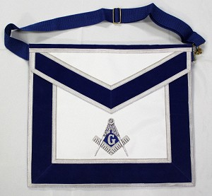 Blue Lodge Member Apron -  Genuine Leather