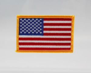 "American Flag Patch 3"" x 2"""