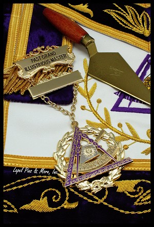 York Rite Past Grand Illustrious Master Jewel