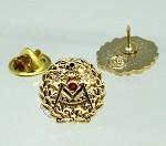 Past Grand Master with Stones Pin