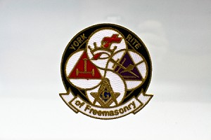 York Rite Patch