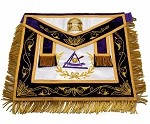 York Rite - Council - Past Grand Illustrious Master Apron on Silk