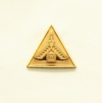 Pennsylvania Past Thrice Illustrious Master Lapel Pin