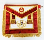 Past Grand High Priest Grand York Rite Apron Leather