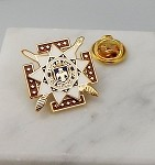 33rd Degree Scottish Rite Mason Lapel Pin | Scottish Rite Lapel Pins