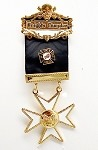 Knights Templar Malta Cross Jewel Fancy