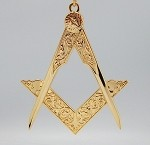 Deputy Grand Master of the Masonic Grand Lodge Jewel High Polished Gold | Blue Lodge Officer Jewels