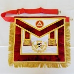 Past Grand High Priest Grand York Rite Apron Silk