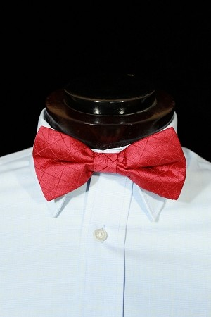 Red Masonic Bow Tie