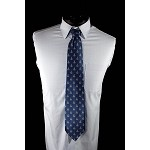 Masonic Blue and Gold Tie