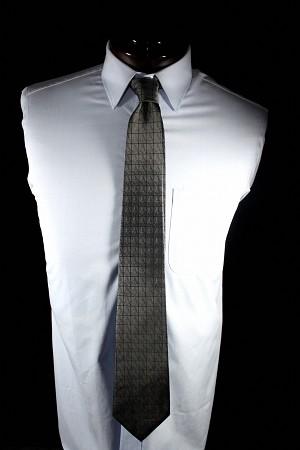 Charcoal Masonic Silk Tie