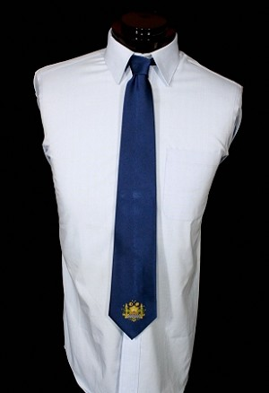 "Masonic ""Temple"" Silk Tie"