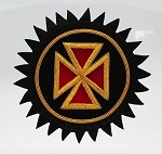 Grand Officer Rosette - Bullion: Knights Templar Uniform Accessories